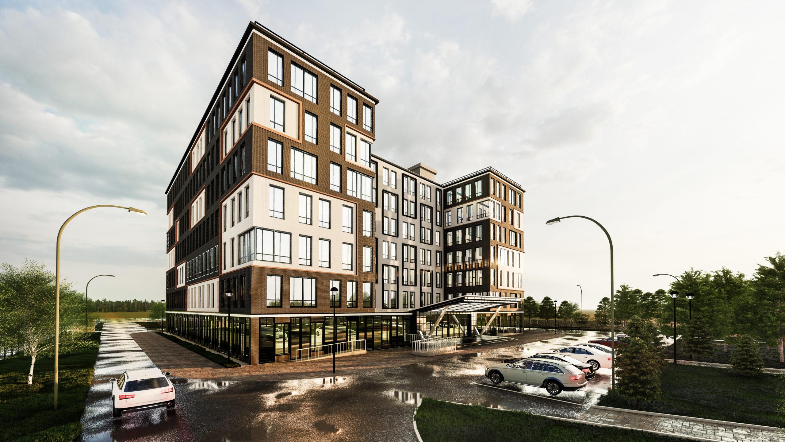 Общежитие на 400 мест г. Новый Уренгой