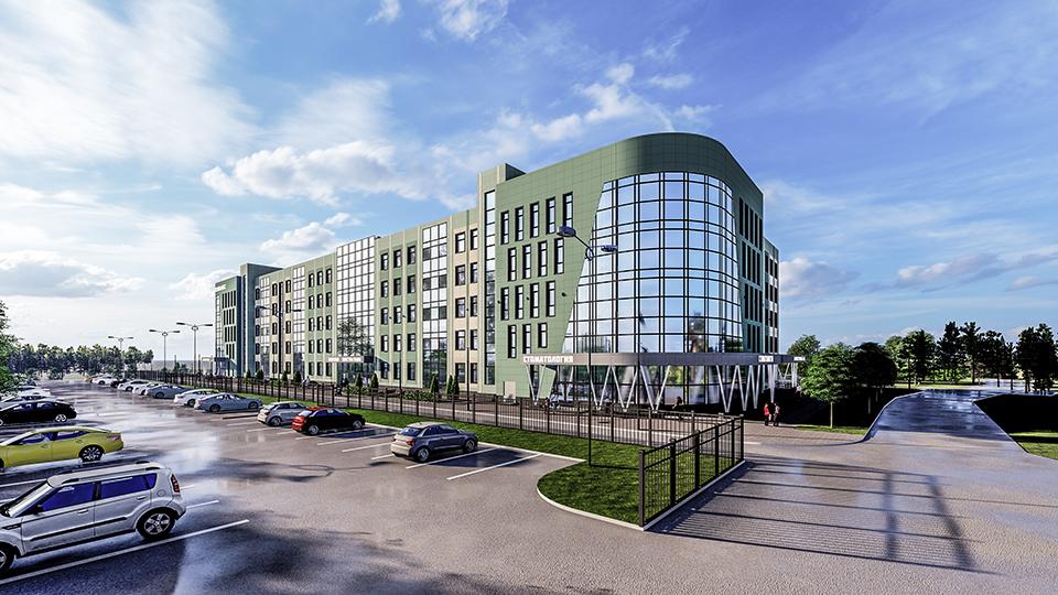 Поликлинический комплекс Муравленко на 730 посещений