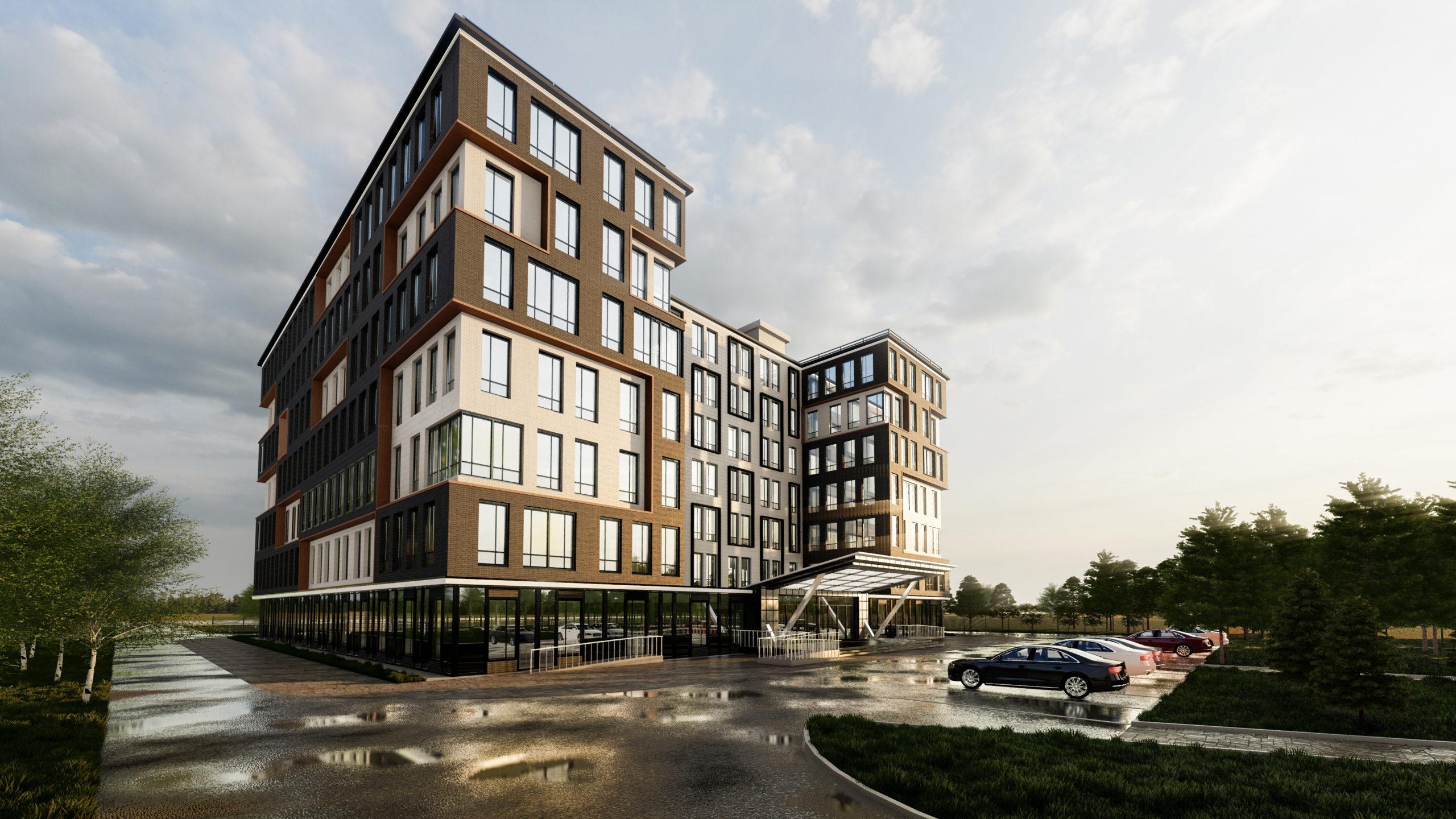 Получен заказ на проектирование общежития
